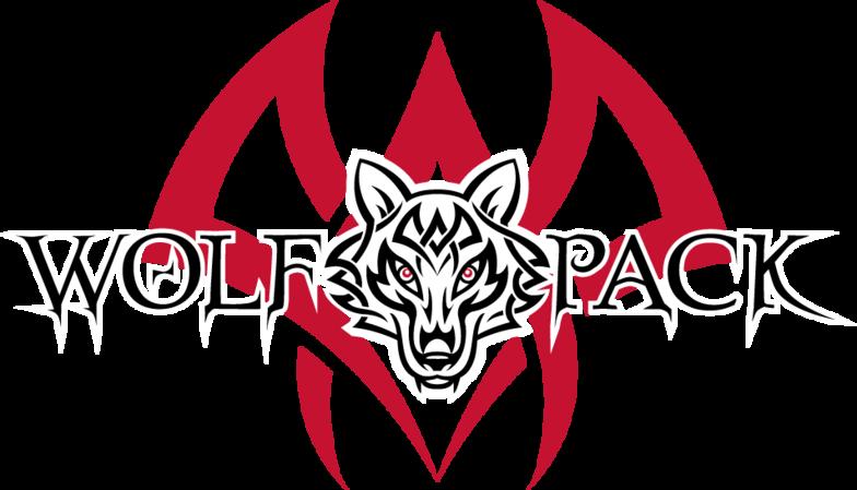 Wolf pack logo design - photo#8